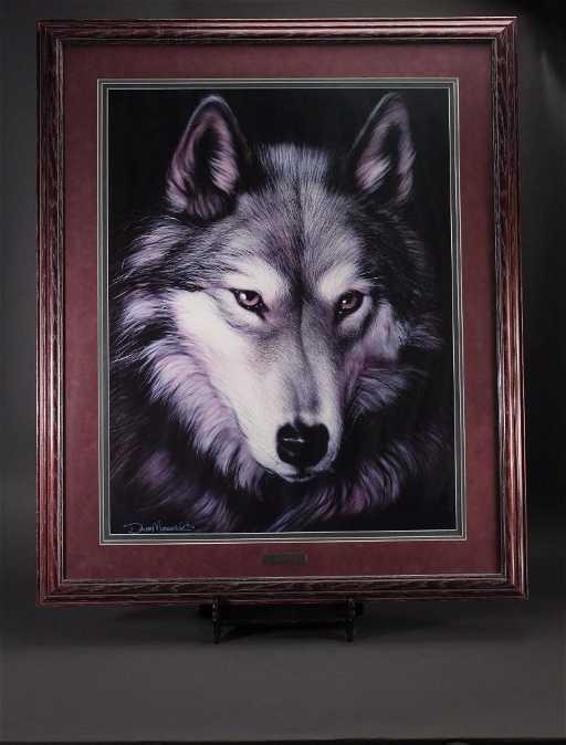 Indigo Dave Merrick 1993 Wolf Print
