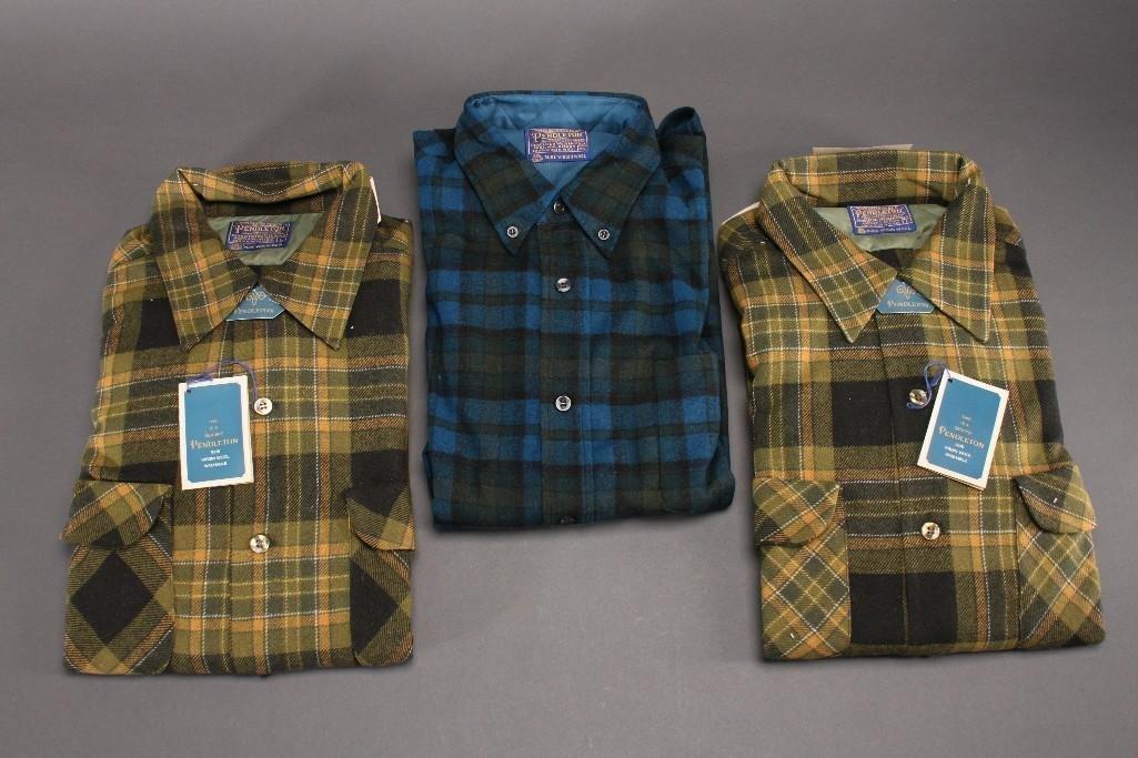 Vintage Pendleton Shirts (3)