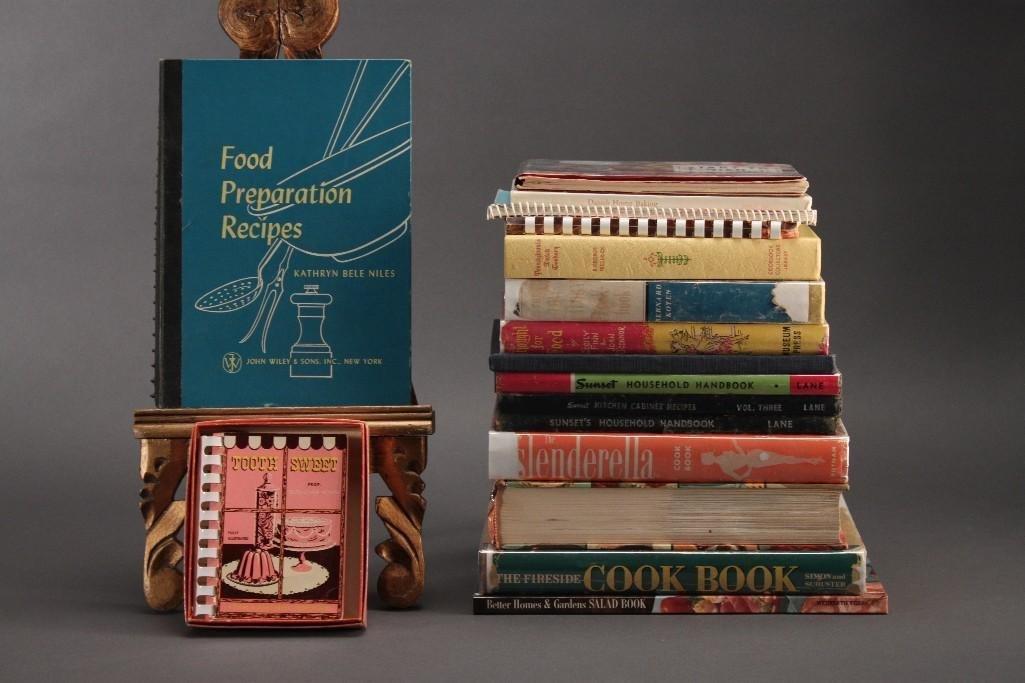 1930's. 40's, and 50's Cookbooks (17)