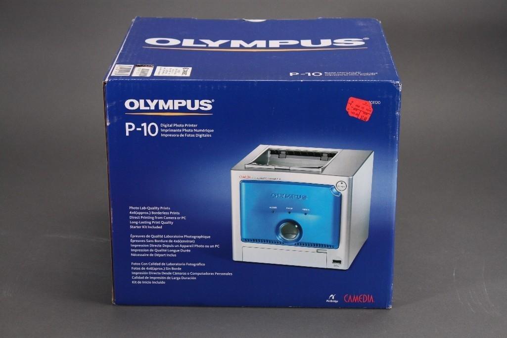 Olympus Camedia P-10 Digital Photo Thermal Printer