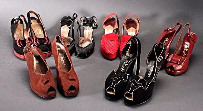 Ladies Vintage Heels (6 pairs)