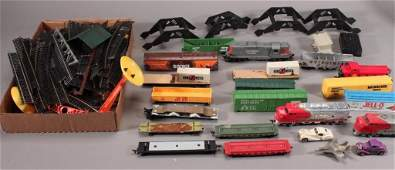 Vintage Toy Trains and Tracks