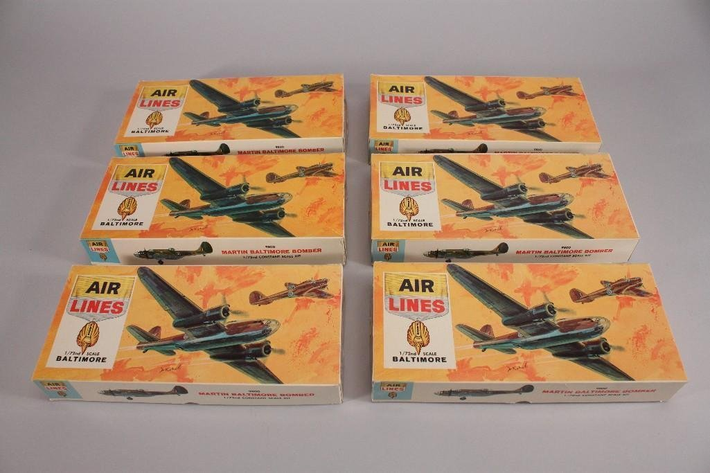 Air Lines Baltimore Bomber Model Kits (6)