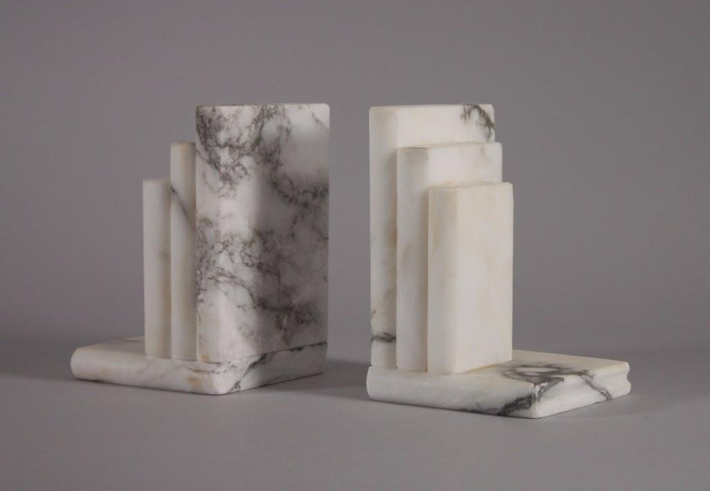 Alabaster Bookends (pair)