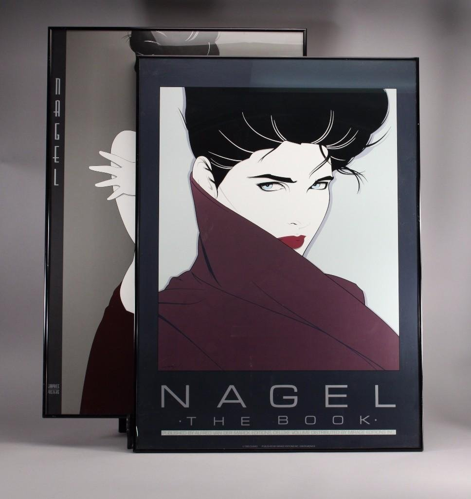 Framed Nagel Prints (2)