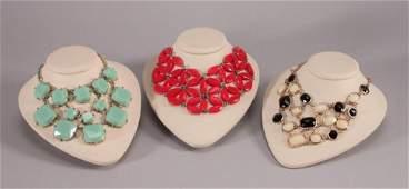 Ladies Bib Necklaces (3)