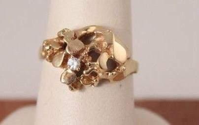 Ladies 14 KT Diamond Ring