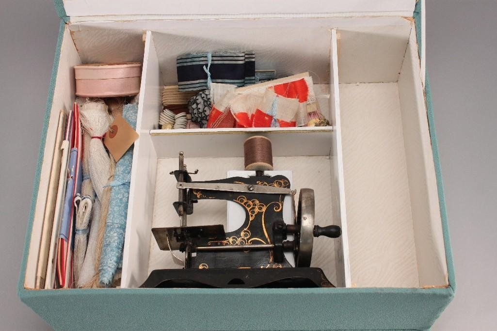 Vintage German Children's Sewing Machine