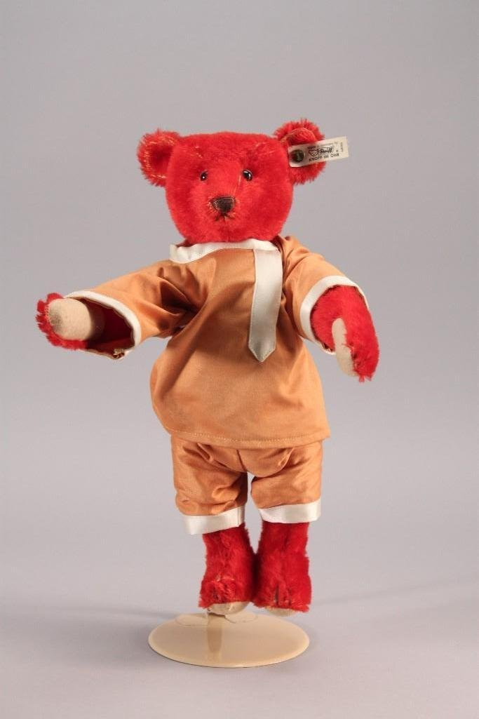 Red Steiff Bear
