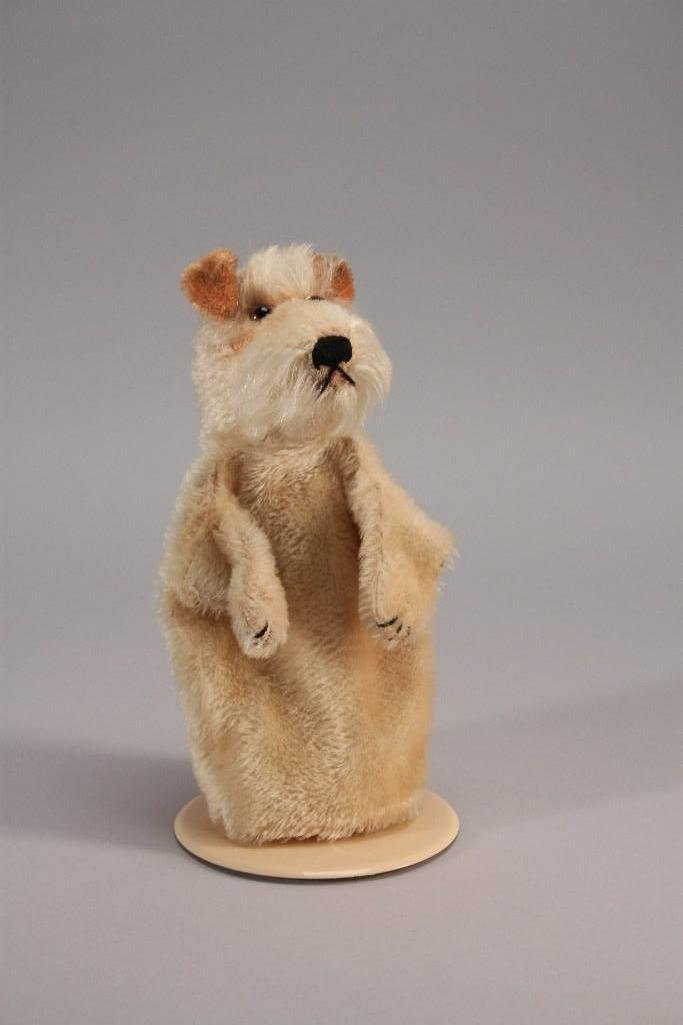 Steiff Fox Terrier Dog Puppet
