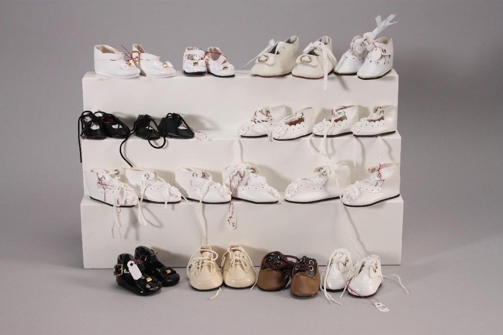 Vintage Baby Doll Shoes (15 Pair)