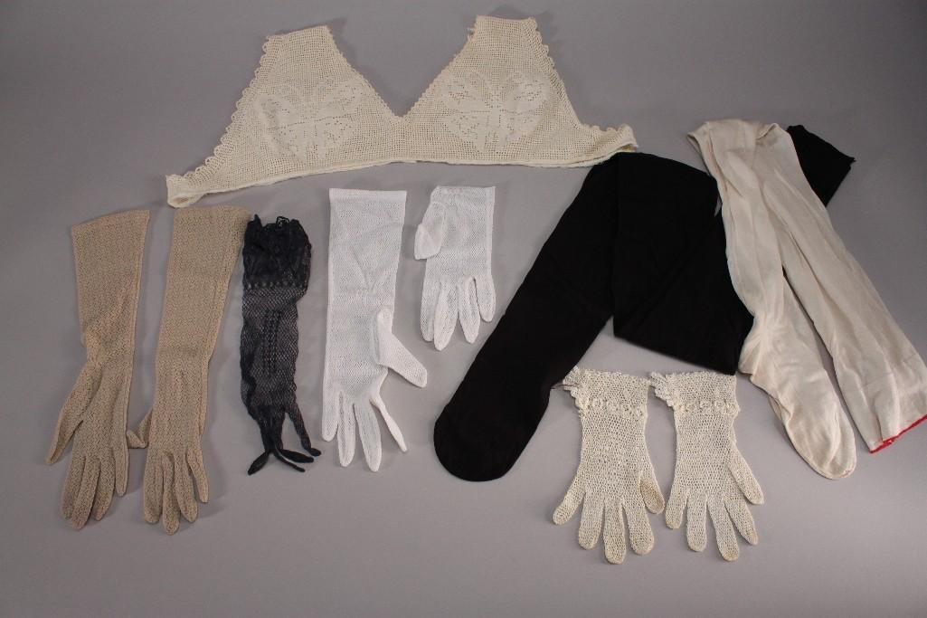 Woman's Vintage Gloves and Hosery (7)