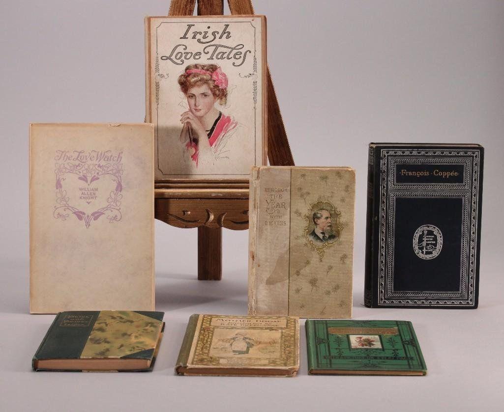 Vintage Hard Cover Books (7)