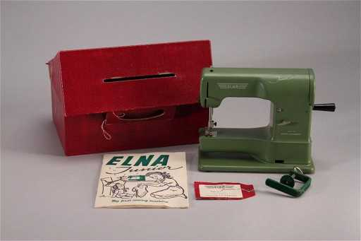 Vintage Elna Junior Musical Sewing Machine Best Elna Junior Sewing Machine