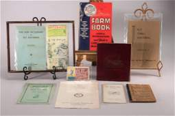 Vintage Fishing Booklets  Ephemera