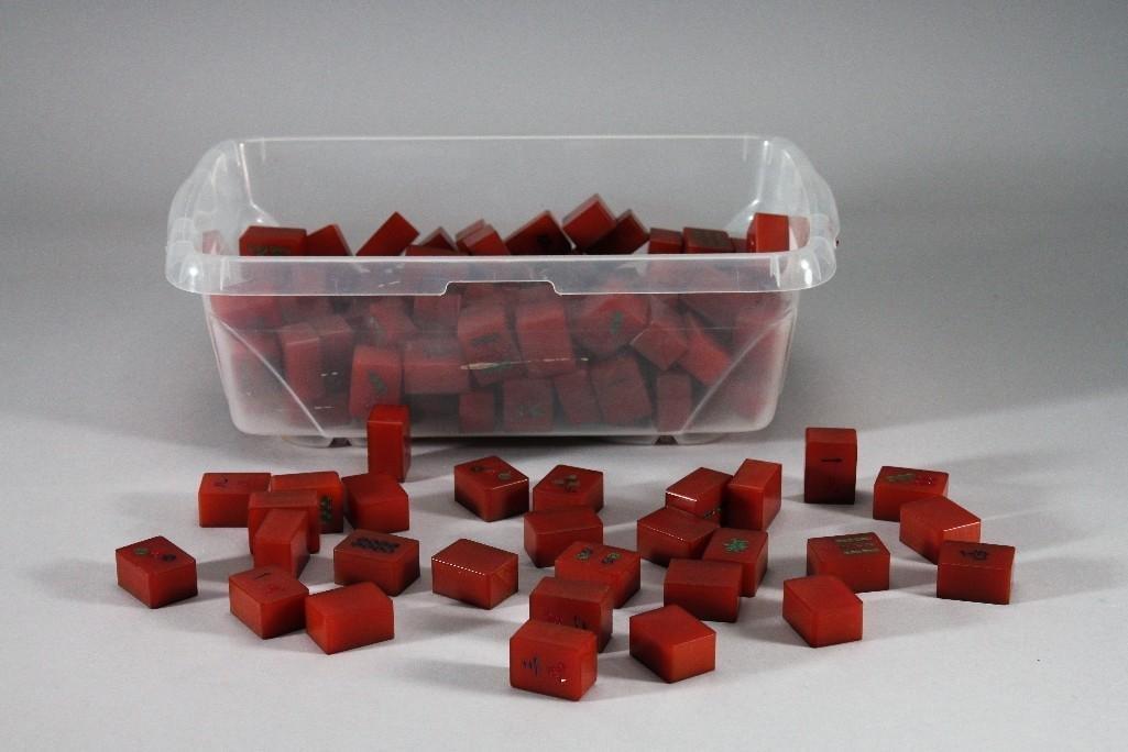 Bakelite Mahjong Tiles
