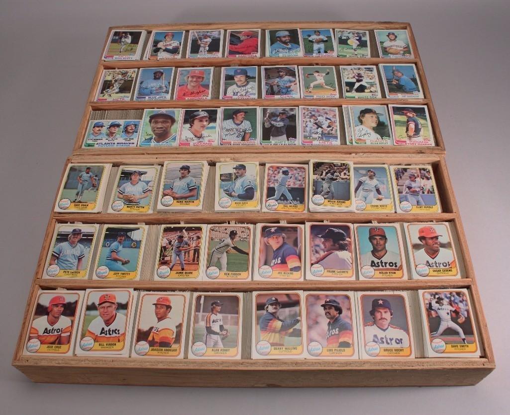 Vintage Baseball Cards (1200+)