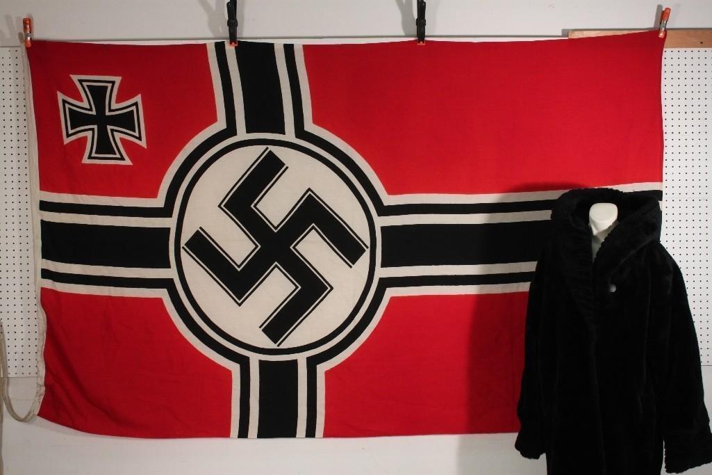 WWII German Battle Flag w/ Lanyard
