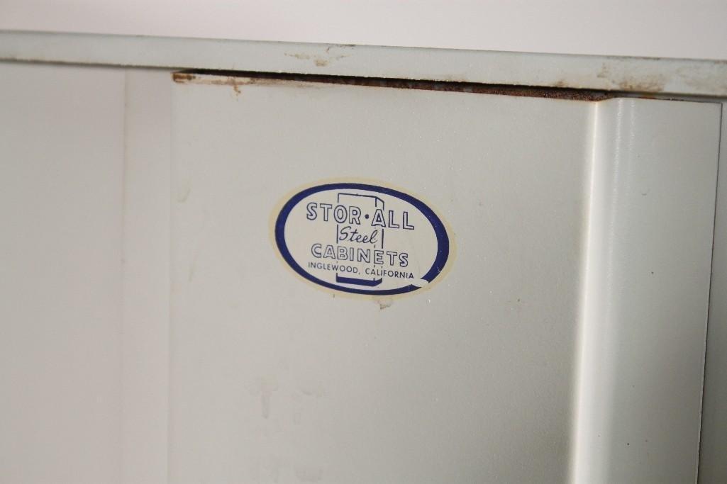 Vintage Stor All Steel Cabinet - 5