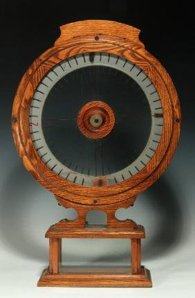 A CIRCA 1890 'THE FAIREST  WHEEL' TRADE STIMULATOR