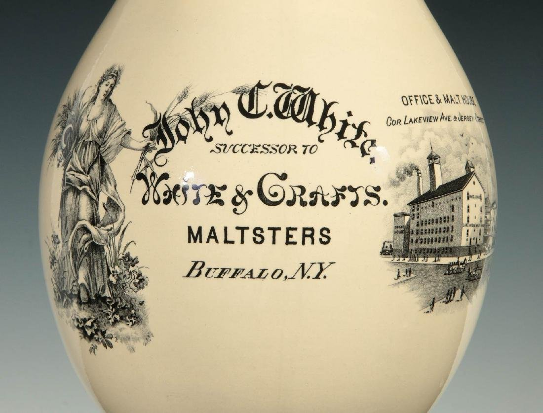 JOHN WHITE MALTSTERS BREWERY PRE-PROHIBITION STEIN - 2