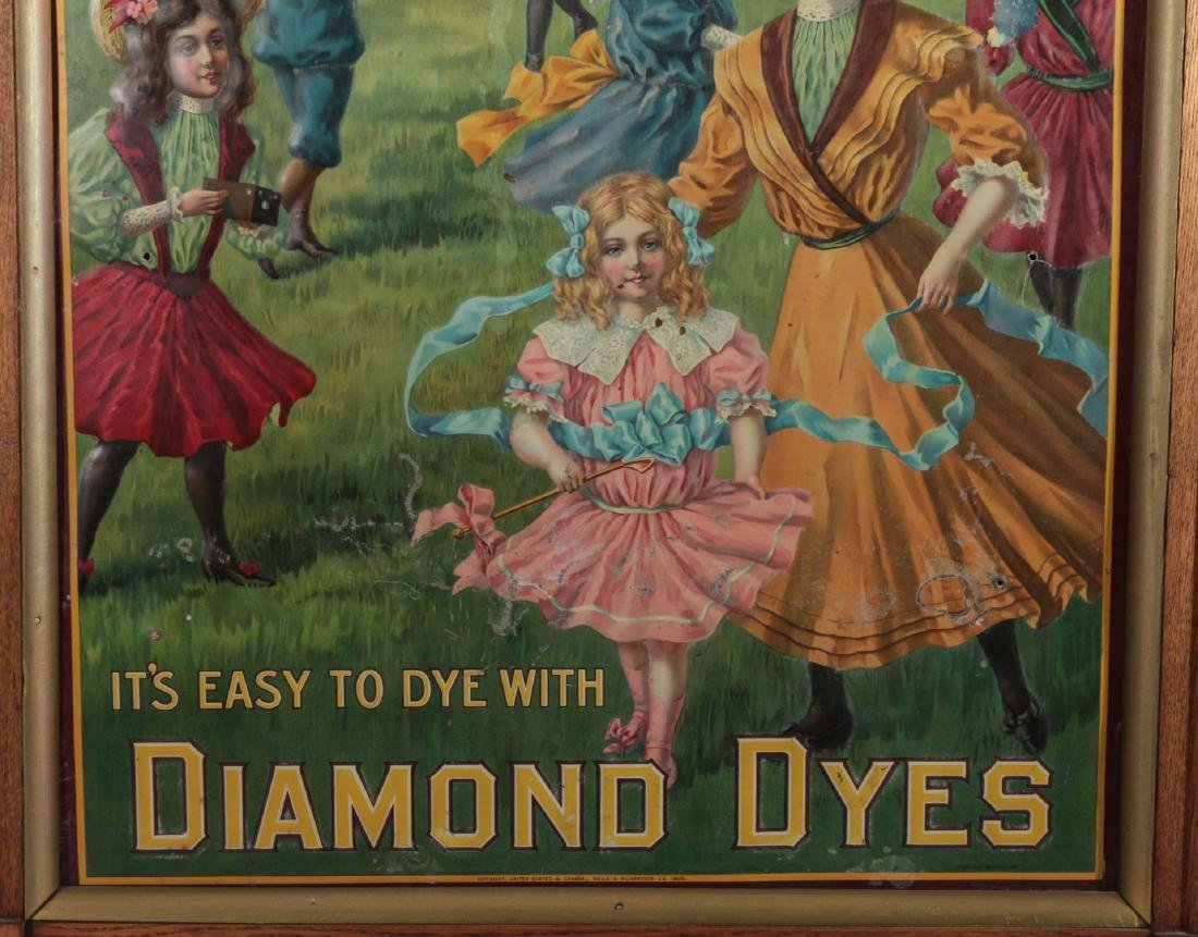 A CIRCA 1900 DIAMOND DYES 'GOVERNESS' CABNET - 3