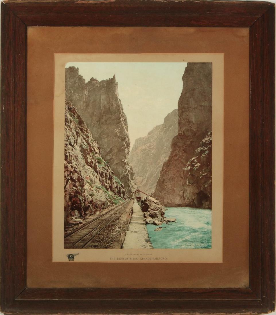 WILLIAM H. JACKSON (1843- 1942) DENVER & RIO GRAND