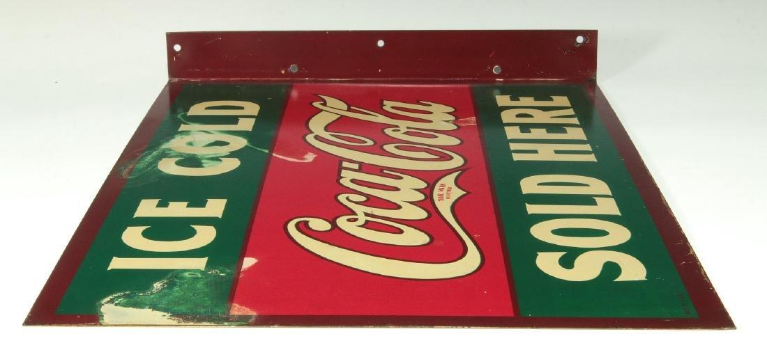 A RARE CIRCA 1927 COCA COLA FLANGE SIGN - 10