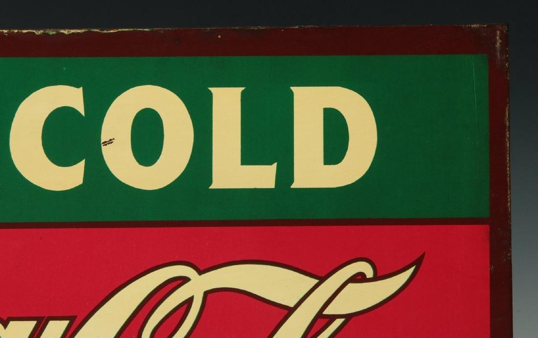 A RARE CIRCA 1927 COCA COLA FLANGE SIGN - 4
