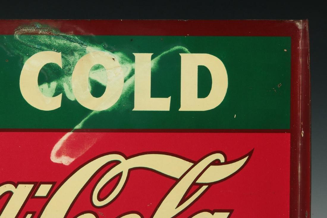 A RARE CIRCA 1927 COCA COLA FLANGE SIGN - 9