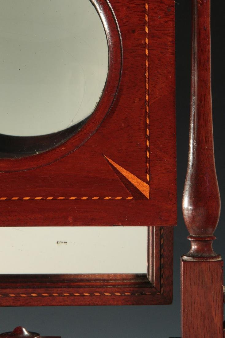 A 19THC MAHOGANY ZOGRASCOPE WITH INLAID DECORATION - 4