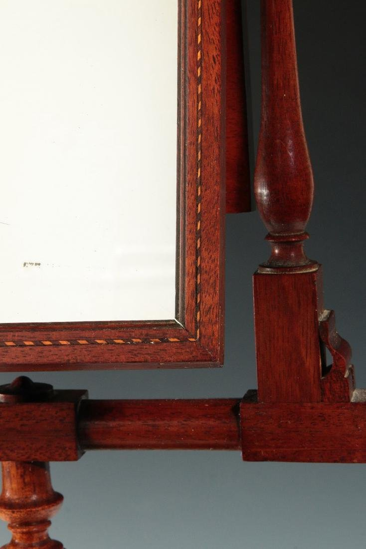 A 19THC MAHOGANY ZOGRASCOPE WITH INLAID DECORATION - 6