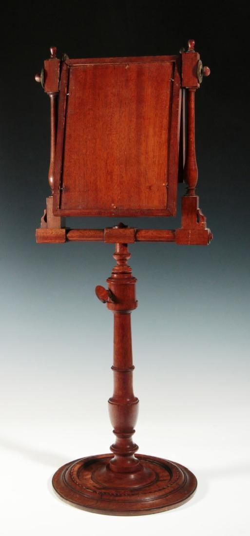 A 19THC MAHOGANY ZOGRASCOPE WITH INLAID DECORATION - 9