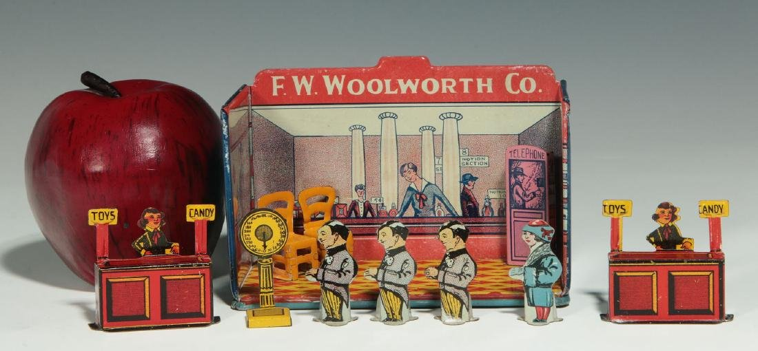 A MINIATURE TIN LITHO F.W. WOOLWORTH CO. STORE - 2