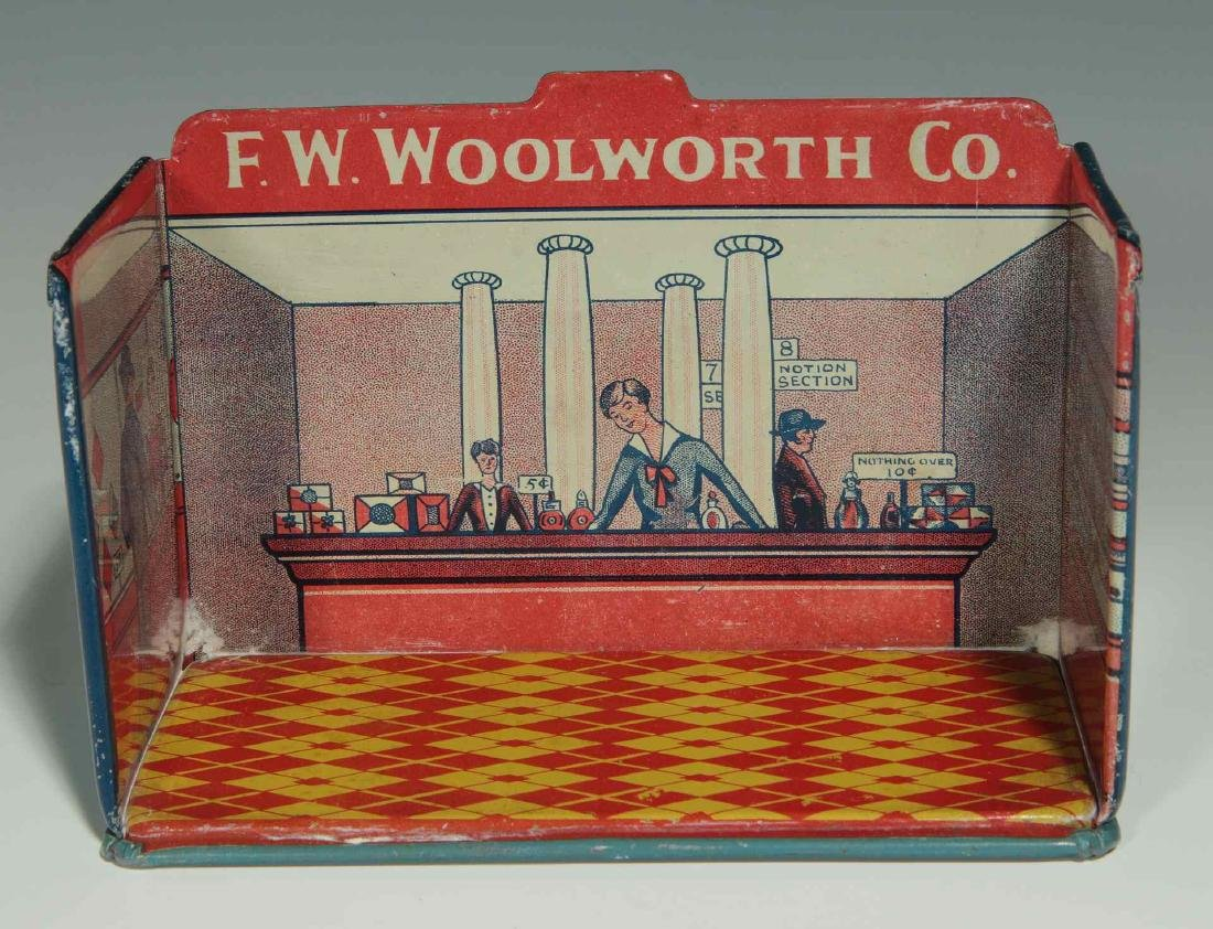 A MINIATURE TIN LITHO F.W. WOOLWORTH CO. STORE - 3