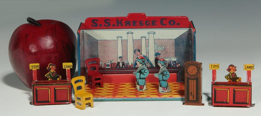 A MINIATURE TIN LITHO S.S KRESGE CO. DRUG STORE - 2