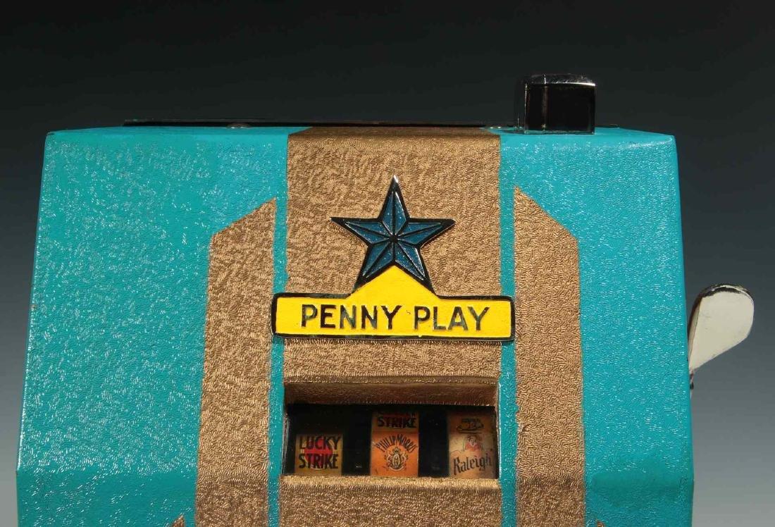 C. 1930 JENNINGS STAR PENNY PLAY TRADE STIMULATOR - 3