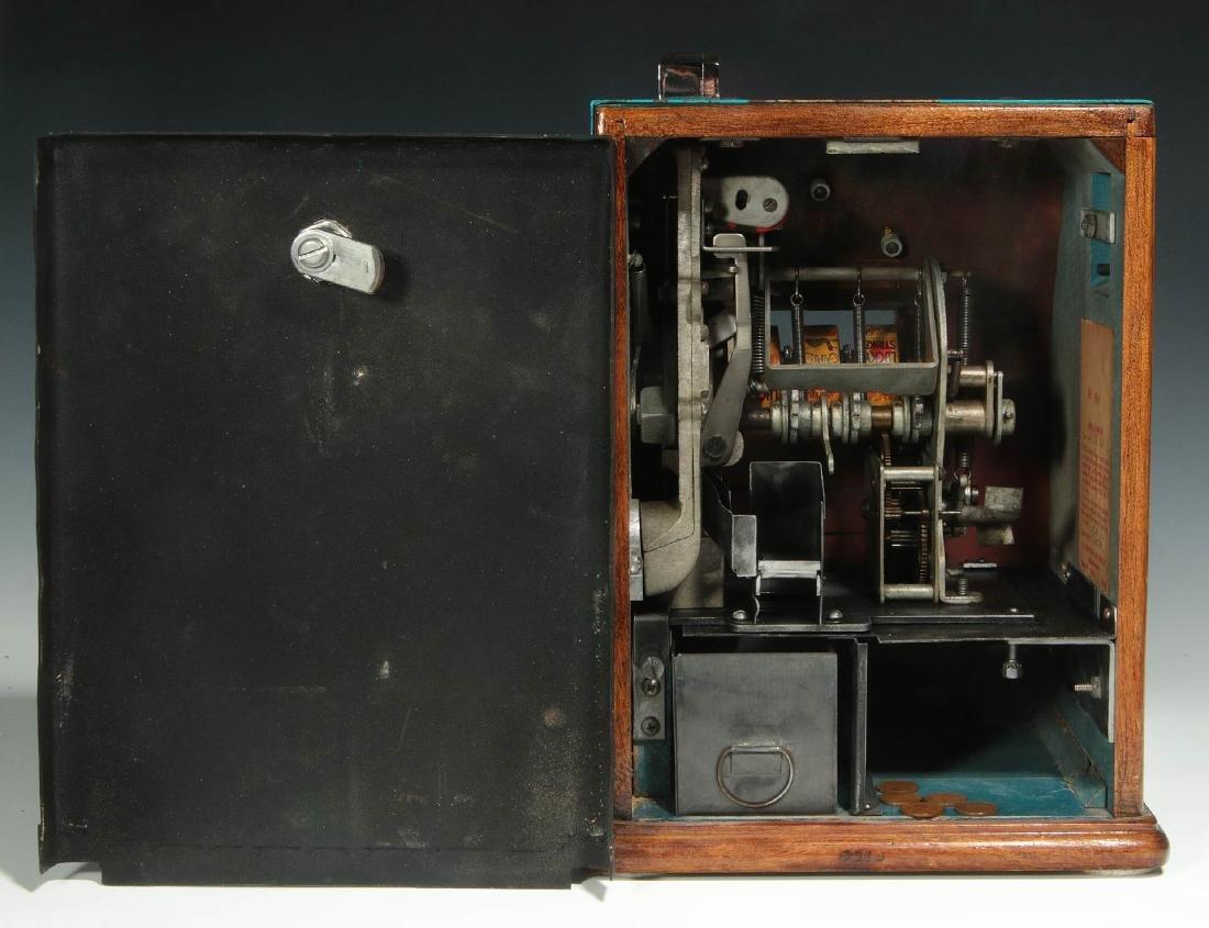 C. 1930 JENNINGS STAR PENNY PLAY TRADE STIMULATOR - 8