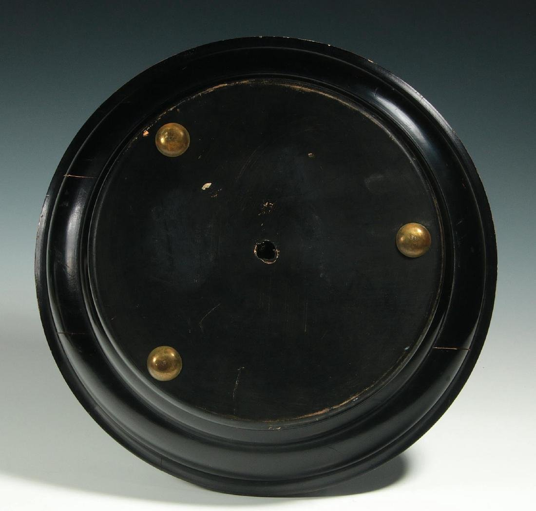 A CIRCA 1900 FRENCH TABLE-TOP ROULETTE WHEEL GAME - 8