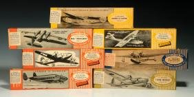 A COLLECTION OF STROMBECKER WWII ERA WOOD MODELS