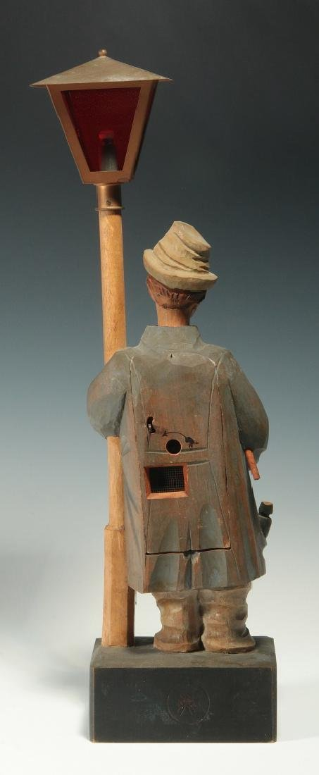 A KARL GRIESBAUM CARVED WOOD WHISTLER AUTOMATON - 6
