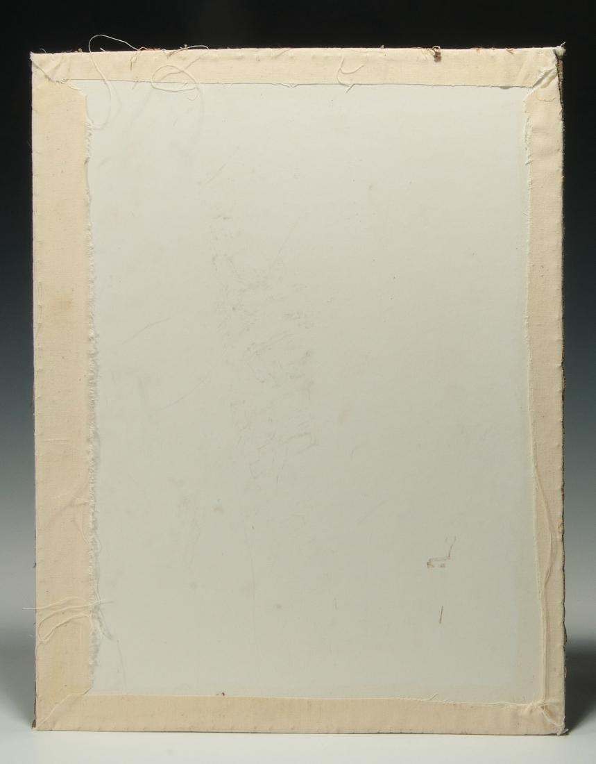 A SCHOOLGIRL CROSS STITCH SAMPLER DATED 1834 - 9