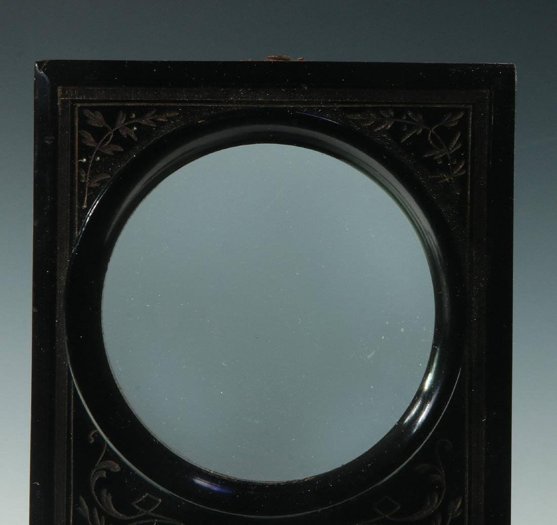 A 19THC. FRENCH FOLDING STEREO CARD PHOTO VIEWER - 3
