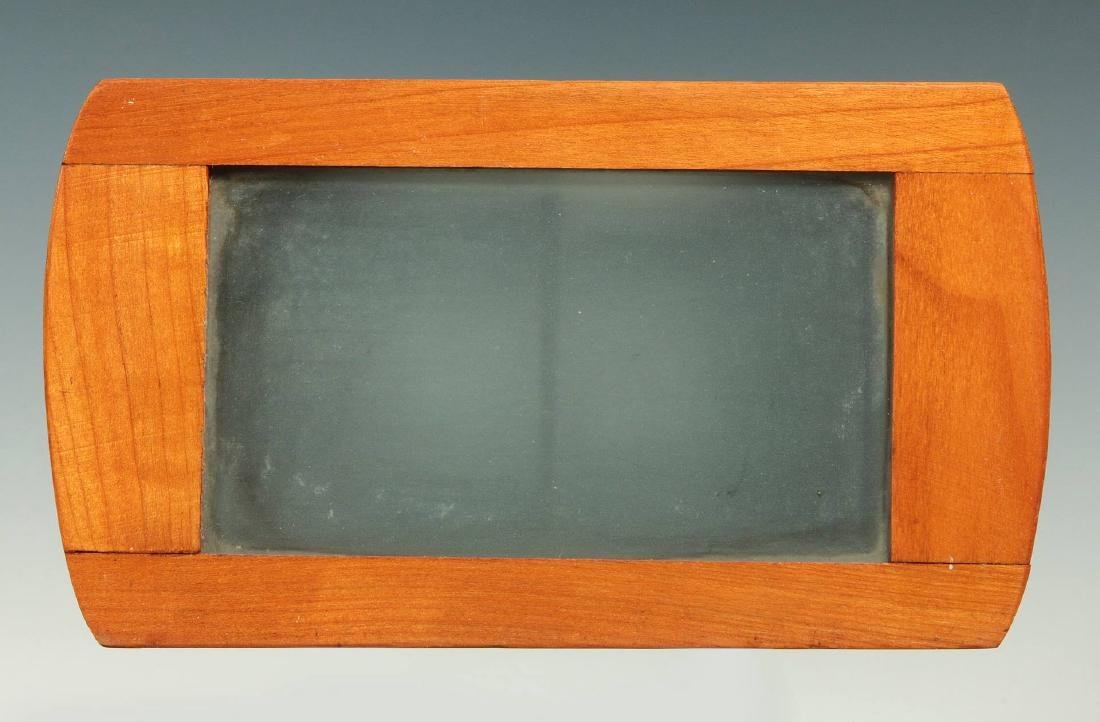 A LATE 19TH C. BREWSTER STYLE STEREOSCOPE VIEWER - 6