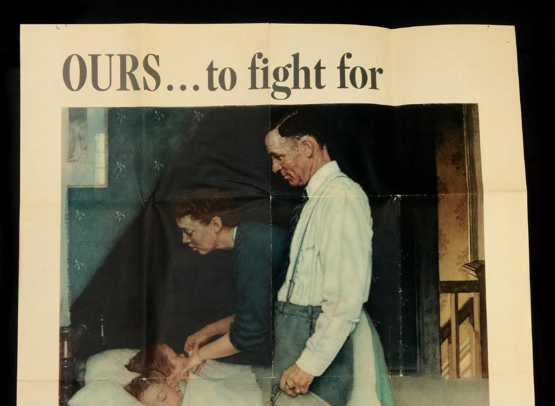 WWII WAR BOND POSTERS AFTER NORMAN ROCKWELL - 2
