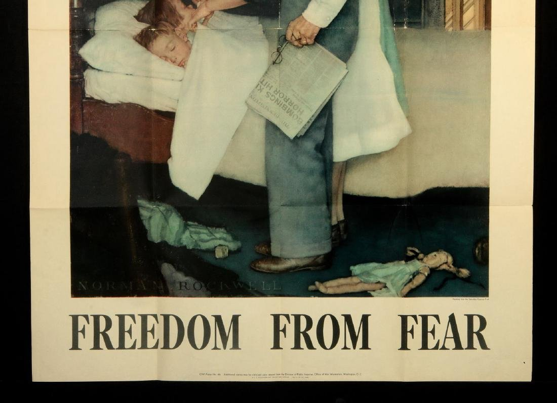 WWII WAR BOND POSTERS AFTER NORMAN ROCKWELL - 3