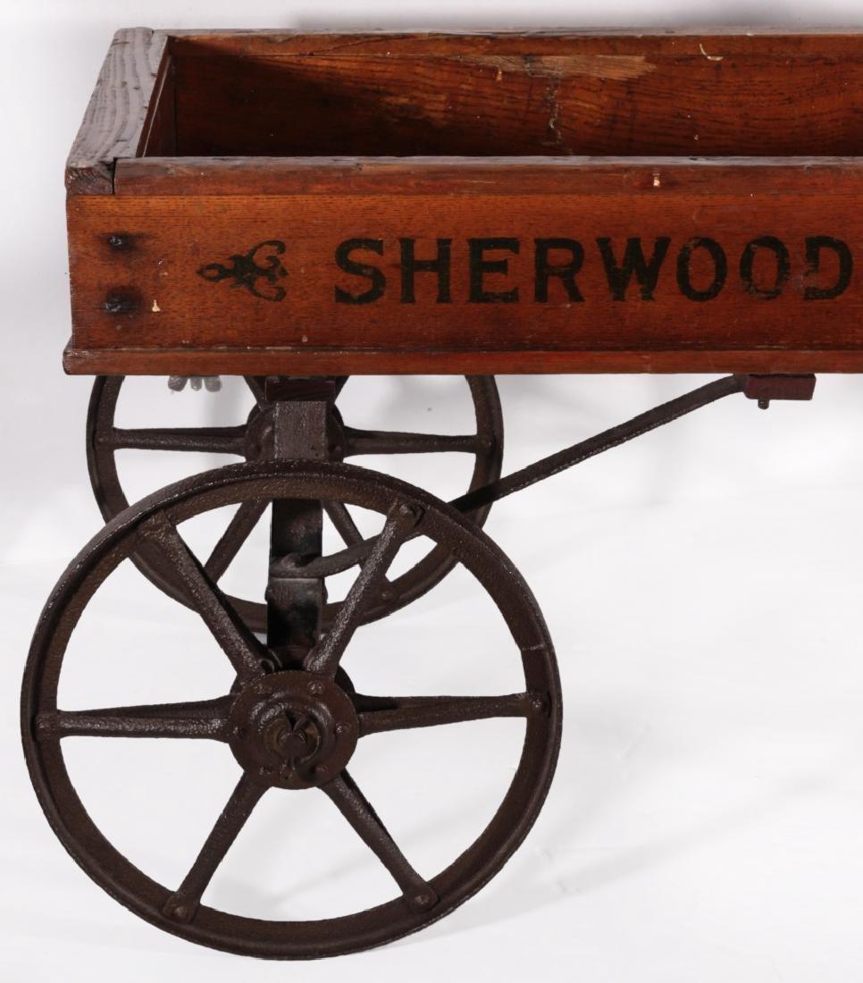 A CIRCA 1910 SHERWOOD SPRING COASTER WAGON - 2