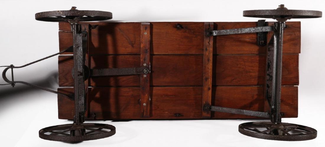 A CIRCA 1910 SHERWOOD SPRING COASTER WAGON - 7