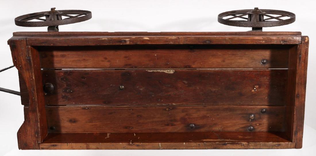 A CIRCA 1910 SHERWOOD SPRING COASTER WAGON - 8