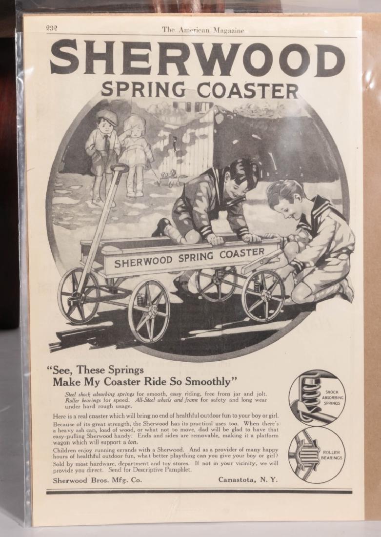 A CIRCA 1910 SHERWOOD SPRING COASTER WAGON - 9